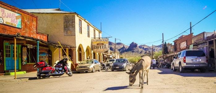 Oatman Mining Town